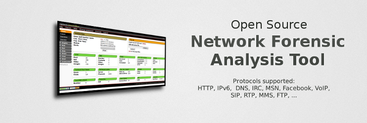 Xplico - Open Source Network Forensic Analysis Tool (NFAT)